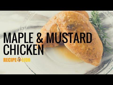 Maple and Mustard Chicken