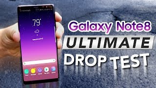 GALAXY NOTE 8 ULTIMATE DURABILITY DROP TEST! 10 DROPS!