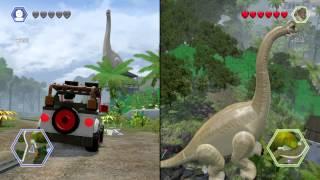 So I Found A Glitch In Lego Jurassic World