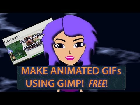 How to Make Animated GIFs Using GIMP (FREE!)