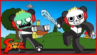 Roblox Most Epic Battle with Zombies and Ice Breaker Let