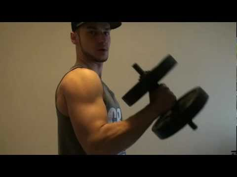 Top 5 Exercises for BIG ARMS with 1 dumbbell!
