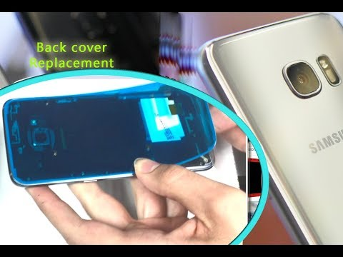 Samsung S7 EDGE (G935F) How to change back cover adhesive sticker / Wymiana uszczelki | Selekt