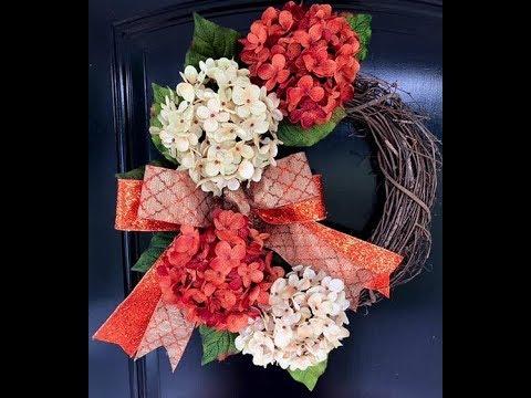 Fall Wreath DIY - How to Make a Fall Wreath