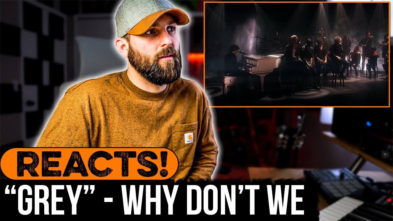 """MUSICIAN REACTS to Why Don't We - """"Grey"""""""