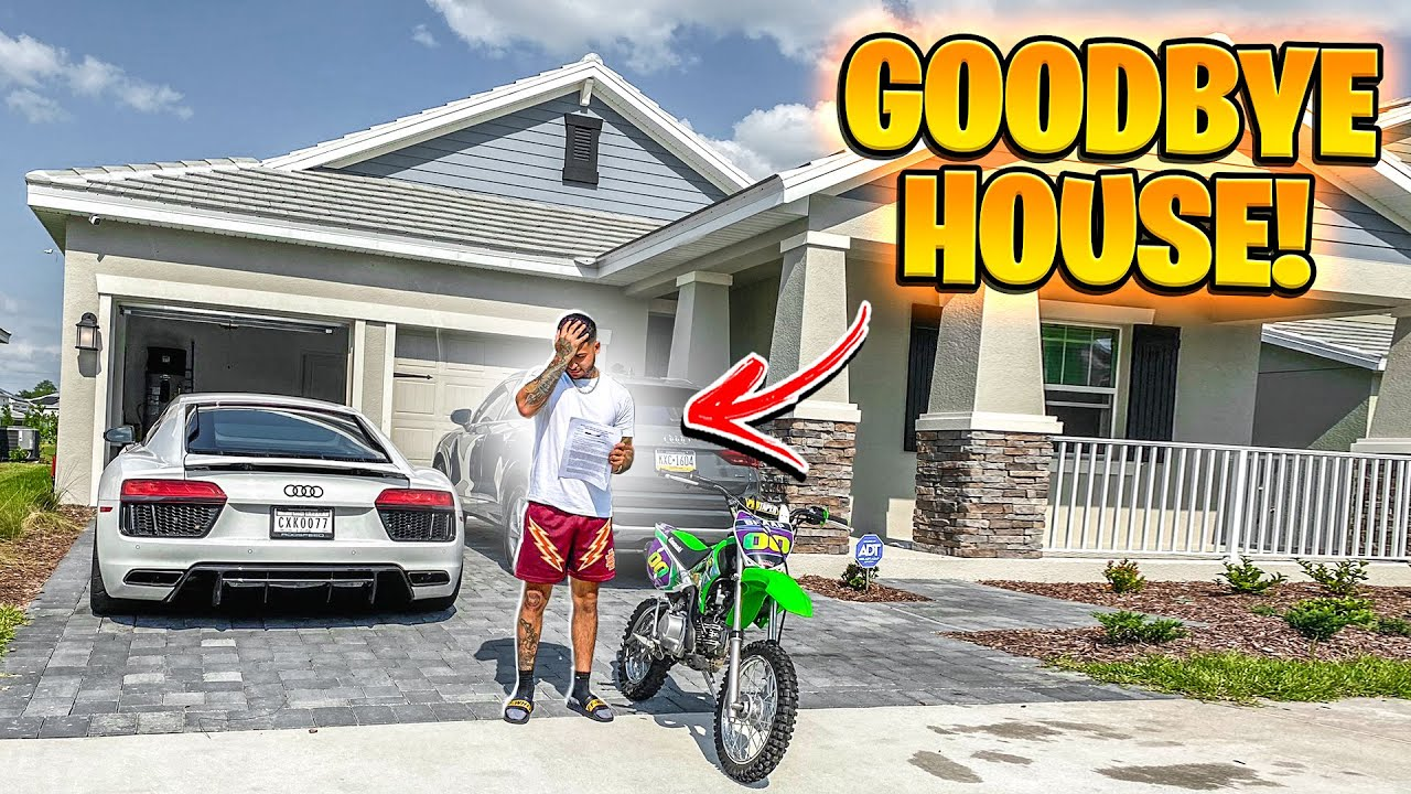 I'M GETTING KICKED OUT OF MY HOUSE BECAUSE OF DIRT BIKES . . . (HOMELESS) | BRAAP VLOGS