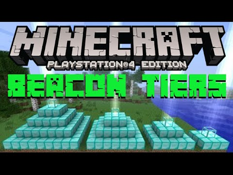 Minecraft Beacon Tiers