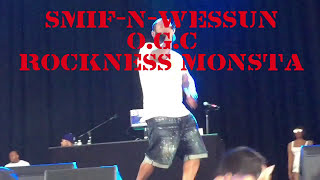SMIF-N-WESSUN, O.G.C. & ROCKNESS MONSTA LIVE IN CONCERT @ THE FORD AMPHITHEATER BROOKLYN ,NY 7-23-17