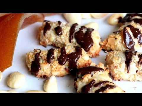 Almond Finger Cookies / صبيعات اللوز - CookingWithAlia - Episode 410