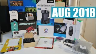 Coolest Tech of the Month Aug 2018 - EP#15 - Latest Gadgets You Must See