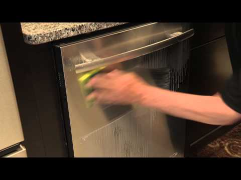 How to Clean a Stainless Steel Door Maytag