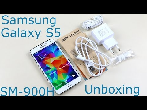 Samsung Galaxy S5 Unboxing (Exynos Octa-Core)