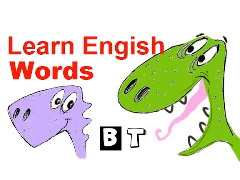 English for Kids - Learn English Vocabulary Words - English Lesson