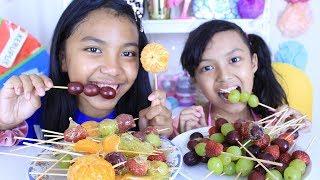 Download RESEP PERMEN BUAH ♥ How To Make Candied Fruit Tanghulu recipe Video