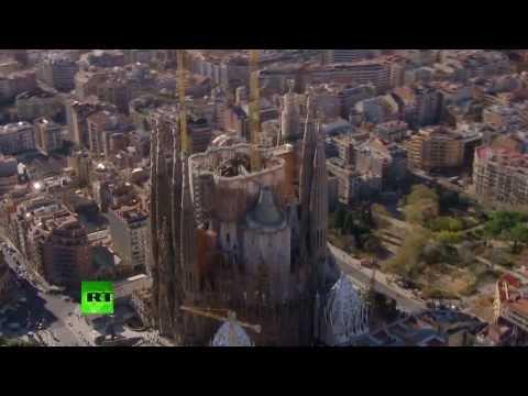Un futurista video 3D muestra cómo será la Sagrada Familia terminada en 2026