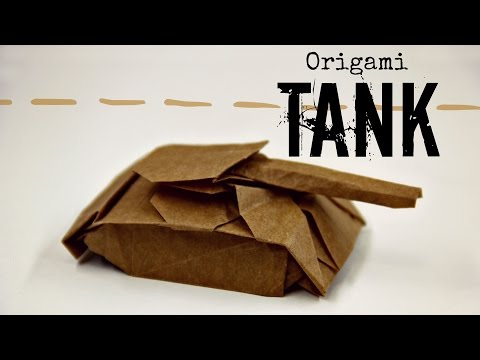 How to make an origami Tank (Ivan Danny)