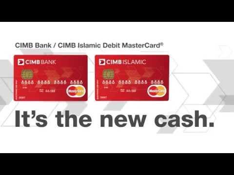 CIMB Debit Card MasterCard