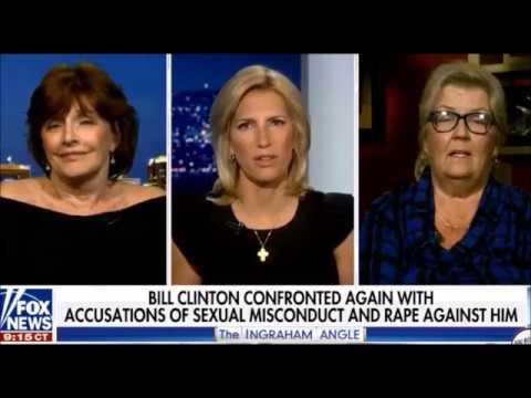Juanita Broaddrick and Kathleen Willey Tell Bill Clinton