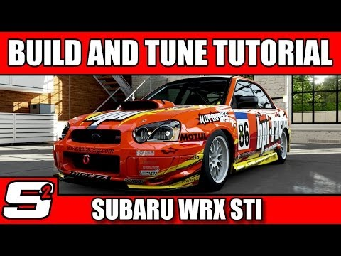 Forza 5 Build and Tuning Tutorial Subaru Impreza WRX STI S Class