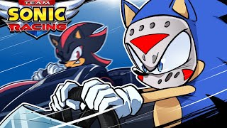 Sonic Racers - SERIOUSLIRIOUS DRIVING! (Delirious' Perspective)