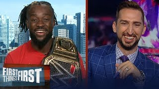 Kofi Kingston talks SummerSlam, Randy Orton & SmackDown coming to FOX | WWE | FIRST THINGS FIRST