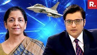 Defence Minister Nirmala Sitharaman Speaks To Arnab Goswami | #FinalRafaleInterview