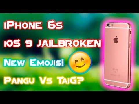 iOS 9/9.1 Jailbroken? | New Emojis - Middle Finger | TaiG and Pangu