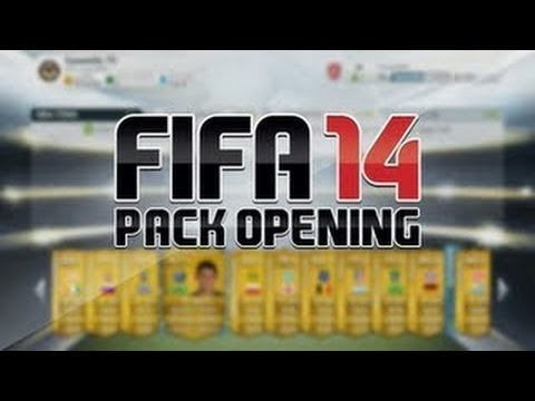 Fifa 14 ultimate team web app Pack opening (10,000) Points