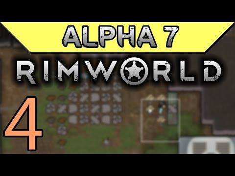 Cutting Stone | Rimworld Alpha 7 Gameplay Part 4