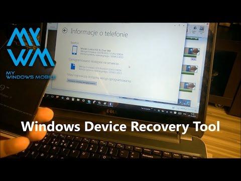 Windows device recovery tool - Lumia 950 XL