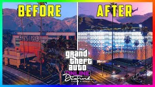 GTA 5 Online The Diamond Casino & Resort DLC Update - NEW FEATURES! Helipad, Infinity Pool & MORE!