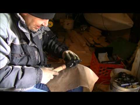 Knapping obsidian, from start to finish, part 2