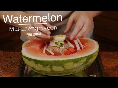 Watermelon Mul Naengmyeon