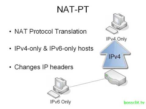 7. IPv6 Migration Methods