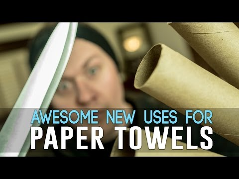 9 Awesome New Uses For Paper Towels