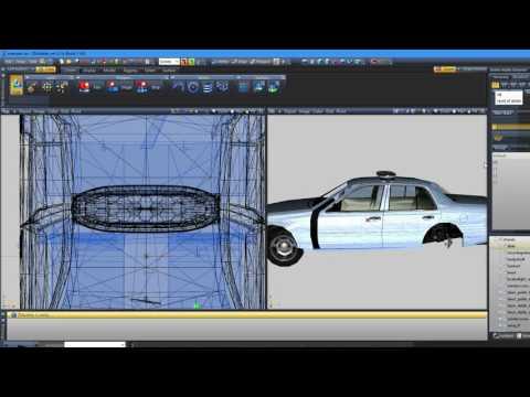 ZModeler 3 How To Make A ELS Police Vehicle  #2   Making The Lights ELS Compatible