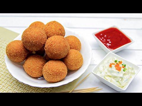 Potato Cheese Balls Recipe - SooperChef