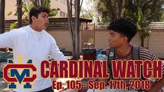 Cardinal Watch: ep. 105 - September 17th, 2018