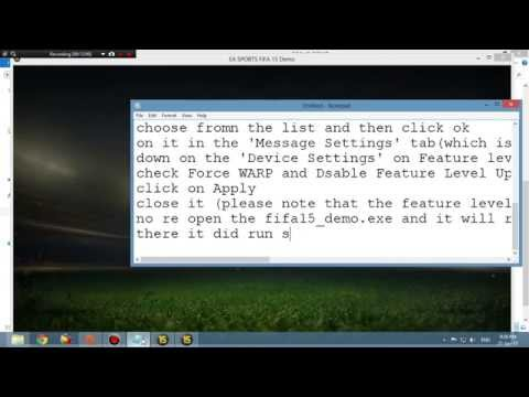 How to play Fifa 15 PC without graphics card