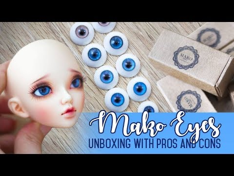Doll Eyes Lookbook & Mako Eyes Unboxing