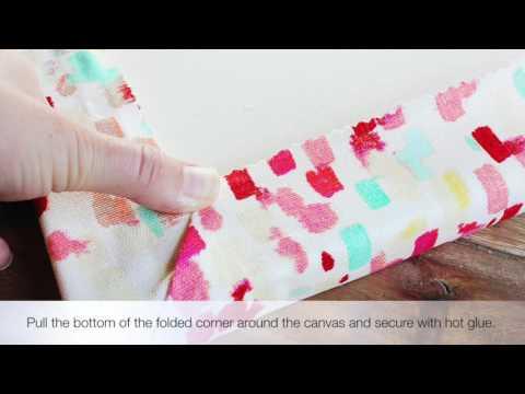 DIY Fabric Memo Board