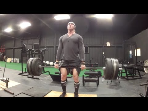 Strongest Workout Of My Life! [495lbs x 7 Reset Reps Deadlift]