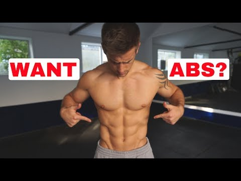 3 Reasons Why You Can't See Your Abs!