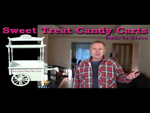 CANDY CART MAKER OR COFFEE CART OR DISPLAY STAND