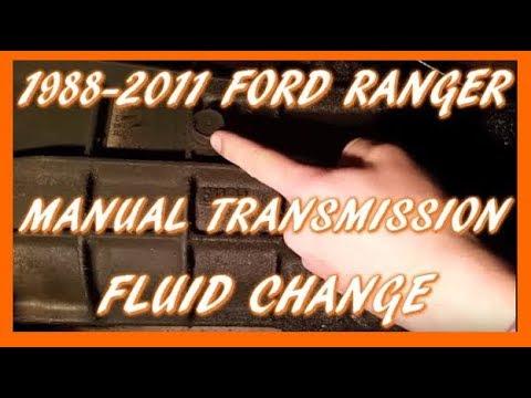 How To Change Manual Transmission Fluid 1988-2011 Ford Ranger   M5OD-R1 Transmission