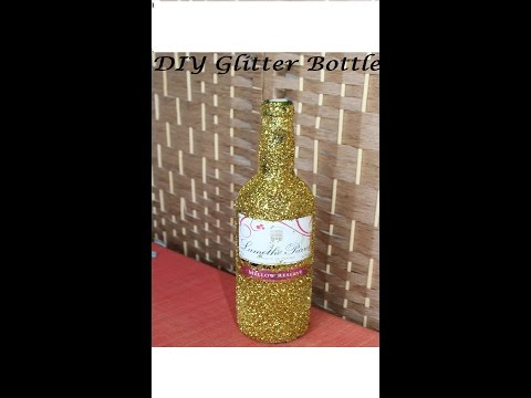 Glitter Bottle (Gift Idea)