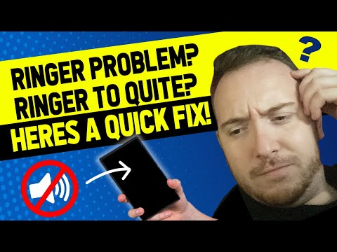 Fix for iPhone X : Ringer Becomes Quite When Someone Calls