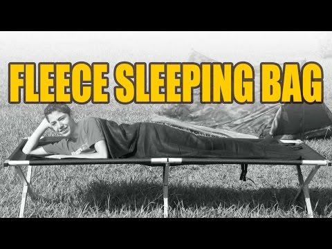 Texsport Black Fleece Sleeping Bag/Liner - $19.99