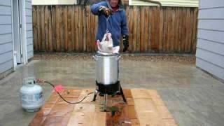 Deep Fat Frying A Turkey