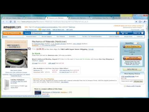 Find Cheaper Books from Third Party Vendors